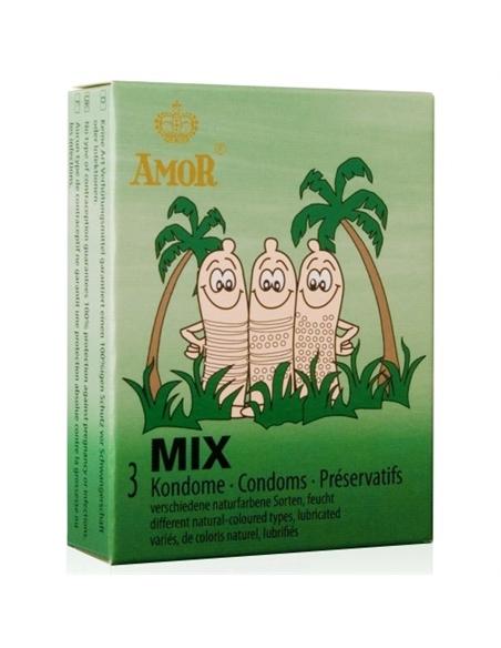 Preservativos Mix - 3 Unidades - PR2010323551