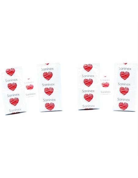 Saninex Preservativos Champanhe Pontilhados 144 Uds - PR2010345085