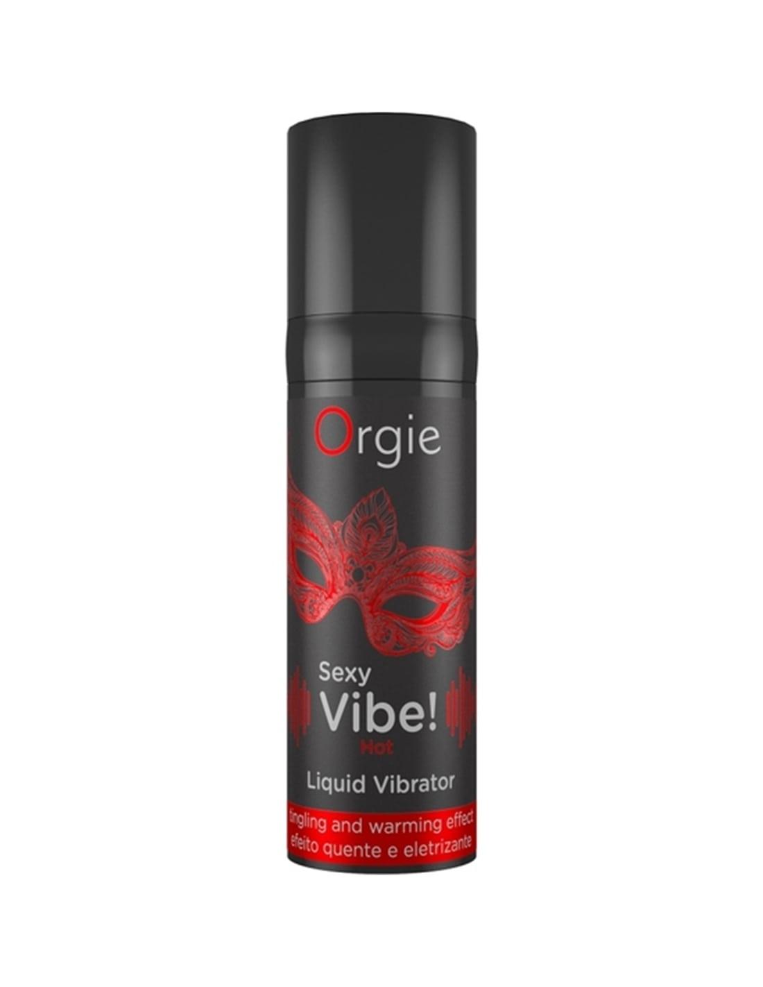 Sexy Vibe! Vibrador Líquido Efeito Aquicimento ORGIE 15ml - PR2010359559